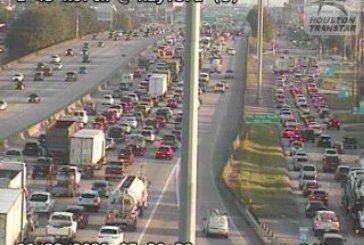 I-45 LANES REOPEN AFTER CRASH