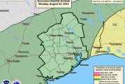 Weather Update: Marginal Risk of Excessive Rainfall Today