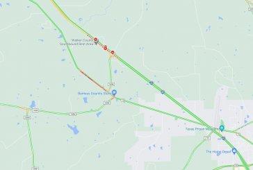 DOUBLE FATAL CRASH ON I-45 IN WALKER COUNTY