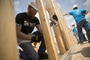 Help to Build the Walls of a Home at Market Street with Habitat MCTX