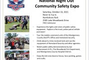 WOODLANDS NATIONAL NIGHT OUT COMMUNITY EXPO