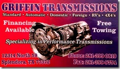 GRIFFIN TRANS 2014