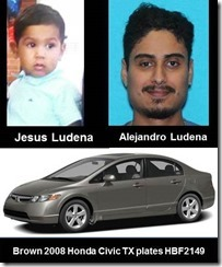 THIS IS A CHILD ABDUCTION ALERT ISSUED BY THE TEXAS AMBER ALERT NETWORK